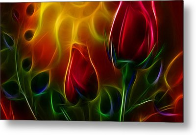 Loved Metal Print by Karen Showell