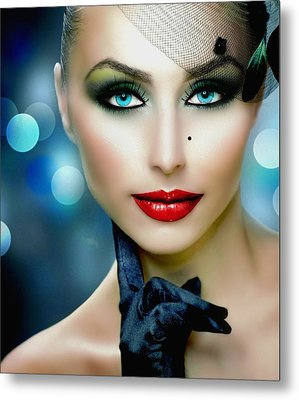 Lovely Lady 1 Metal Print