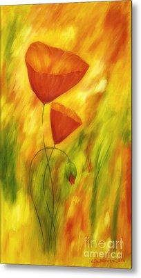 Lovely Poppies Metal Print by Veikko Suikkanen