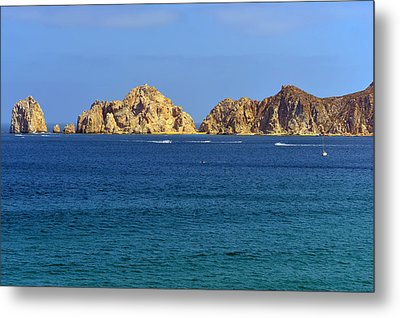 Metal Print featuring the photograph Lovers Beach Cabo by Christine Till