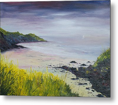 Lovers Cove Kinsale   Metal Print by Conor Murphy