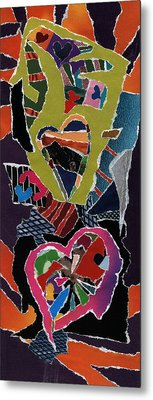 Love's It Metal Print by Kenneth James