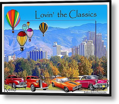Lovin The Classics Metal Print