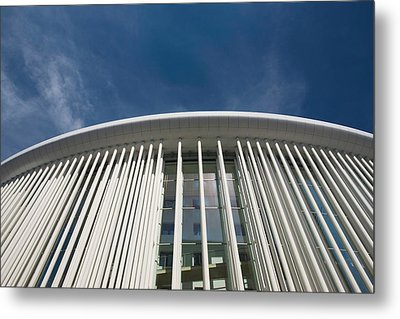 Low Angle View Of A Concert Hall Metal Print by Panoramic Images