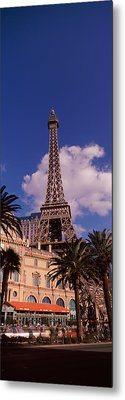 Low Angle View Of A Hotel, Replica Metal Print by Panoramic Images
