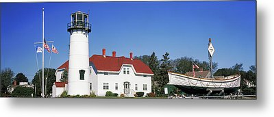 Low Angle View Of A Lighthouse, Chatham Metal Print by Panoramic Images