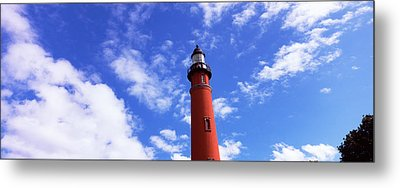 Low Angle View Of A Lighthouse, Ponce Metal Print