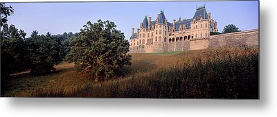 Low Angle View Of A Mansion, Biltmore Metal Print