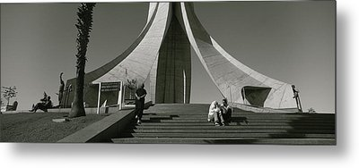 Low Angle View Of A Monument, Martyrs Metal Print