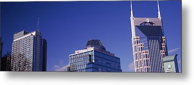 Low Angle View Of Buildings, Nashville Metal Print by Panoramic Images