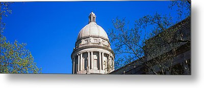 Low Angle View Of State Capitol Metal Print by Panoramic Images