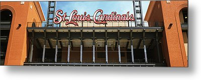 Low Angle View Of The Busch Stadium Metal Print by Panoramic Images