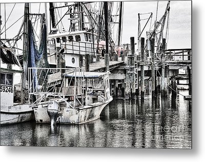 Low Country Small Craft Metal Print by Scott Hansen