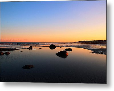 Low Tide Metal Print by Andrea Galiffi