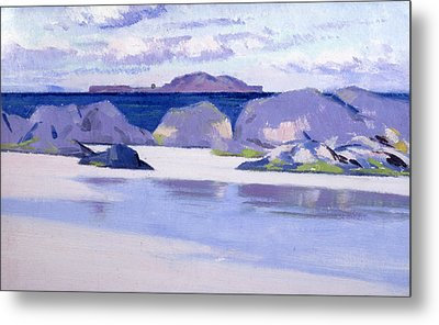 Low Tide  Iona Metal Print by Francis Campbell Boileau Cadell