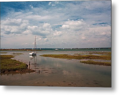 Metal Print featuring the photograph Low Tide by Shirley Mitchell