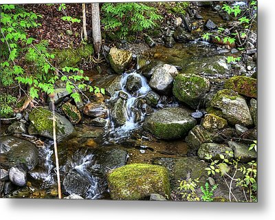 Lowell Mountain Stream Metal Print