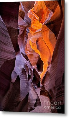 Lower Antelope Glow Metal Print