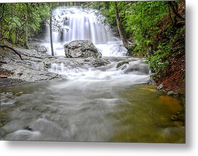 Lower Disharoon Falls Metal Print by Bob Jackson