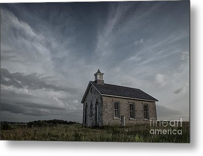 Lower Fox Creek School  Metal Print by Keith Kapple