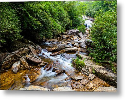 Lower Graveyard Falls Metal Print