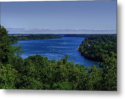 Lower Niagara River Metal Print by Nicky Jameson