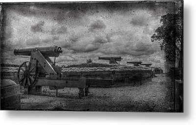 Lower River Batteries Fort Donelson Tennessee Metal Print by Paul Freidlund