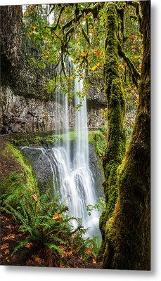 Metal Print featuring the photograph Lower South Falls by Brian Bonham