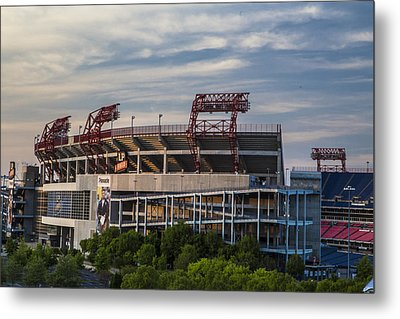 Lp Field - Nashville Tennessee  Metal Print