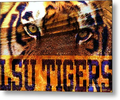 Lsu - Death Valley Metal Print