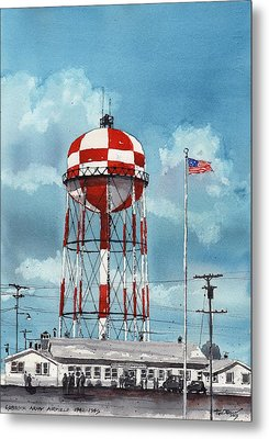 Lubbock Army Airfield Texas Metal Print