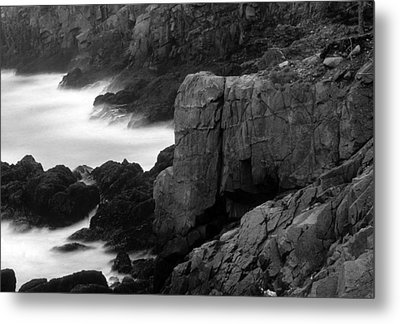 Lubec-maine Metal Print by Harold E McCray