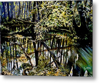 Lubianka-4 Mystery Of Swamp Forest Metal Print