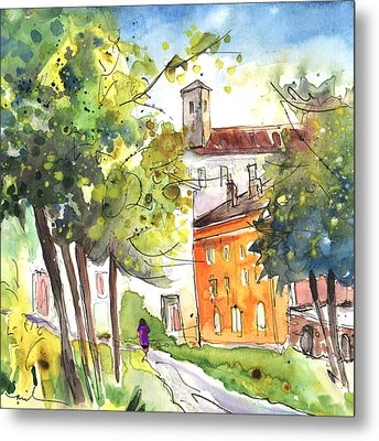 Lucca In Italy 02 Metal Print by Miki De Goodaboom