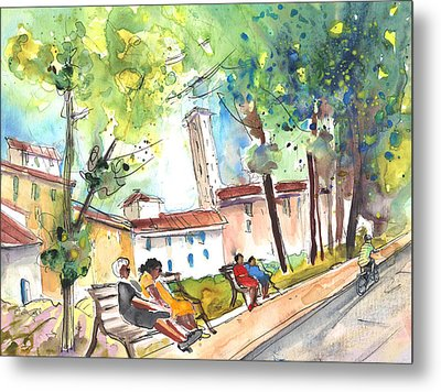 Lucca In Italy 03 Metal Print by Miki De Goodaboom
