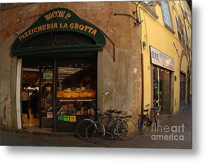 Lucca Italy Metal Print by Bob Christopher