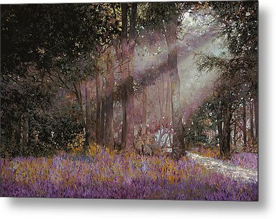 Luci Metal Print by Guido Borelli