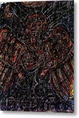Lucifer Defies God Metal Print by Rachel Scott