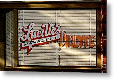 Lucille's Dinette Metal Print