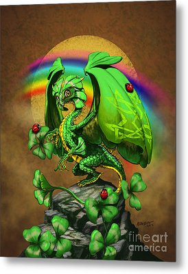 Luck Dragon Metal Print