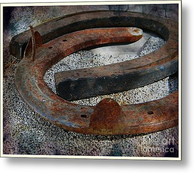 Luck Within Metal Print by Michelle Frizzell-Thompson