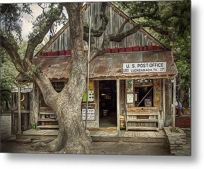 Luckenbach 2 Metal Print by Scott Norris
