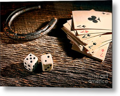 Lucky Metal Print by Olivier Le Queinec