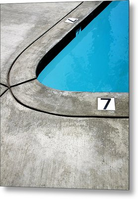 Lucky Sevens Palm Springs Metal Print by William Dey