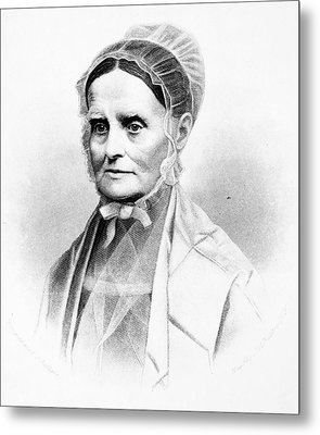 Lucretia Coffin Mott (1793-1880) Metal Print