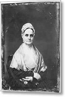 Lucretia Mott (1793-1880) Metal Print by Granger