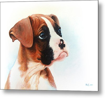 Lucy Metal Print by Kevin Hill