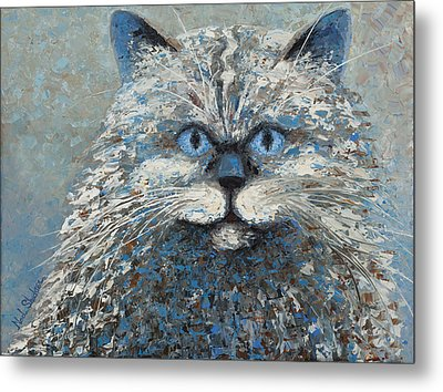 Lucy Metal Print by Ned Shuchter