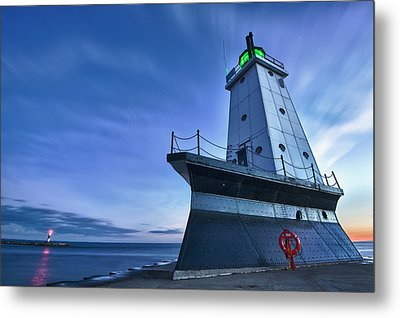 Ludington North Breakwater Lighthouse Metal Print
