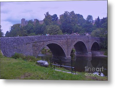 Metal Print featuring the photograph Ludlow Castle by John Williams